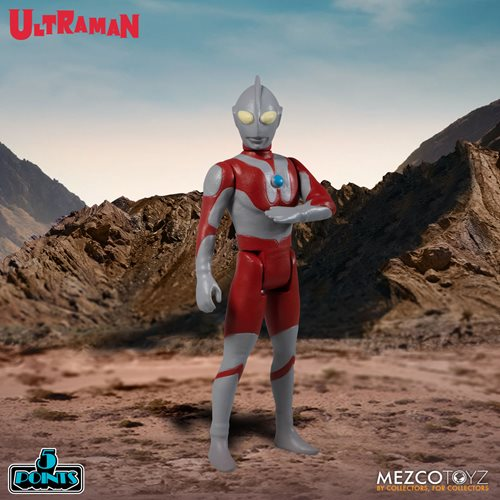Ultraman and Red King 5 Points Boxed Set