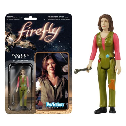 Firefly Kaylee Frye ReAction 3 3/4-Inch Retro Action Figure