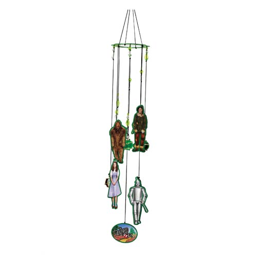 Wizard of Oz Figural Metal Wind Chimes