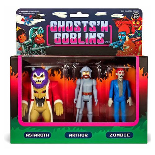 Ghosts n Goblins 3 3/4-Inch ReAction Figure Pack A