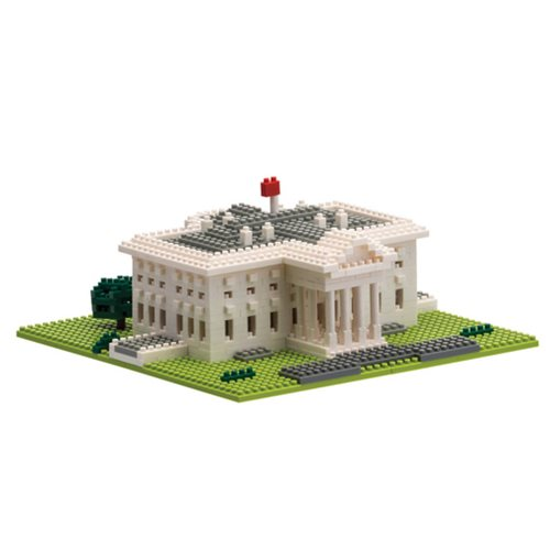 White House Nanoblock Constructible Figure