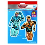 DC Comics Booster Gold and Blue Beetle Vinyl Decal - Previews Exclusive