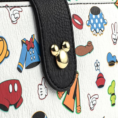 Disney Classic Character Clothing Flap Wallet