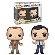 The Office Toby vs Michael Pop! Vinyl Figure 2-Pack, Not Mint