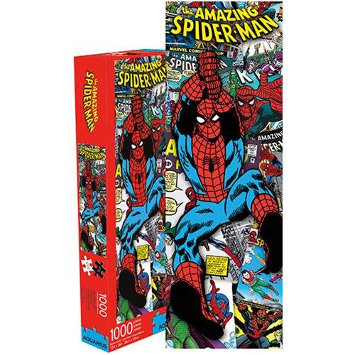 Spider-Man Comic Collage Slim 1000-Piece Puzzle