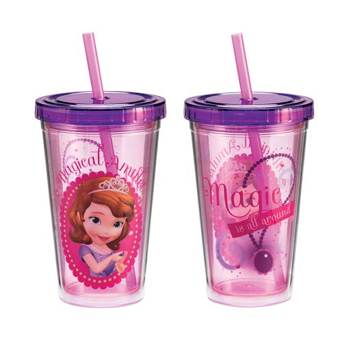 Disney Jr. Sofia the First 12 oz. Acrylic Travel Cup