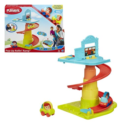 Playskool Pop-Up Rollin Ramp