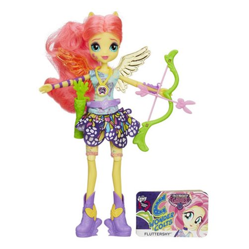 My Little Pony Equestria Girls Fluttershy Doll, Not Mint