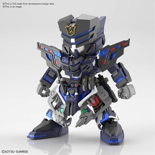 SD Gundam World Heroes 13 Verde Buster Team Member Model Kit
