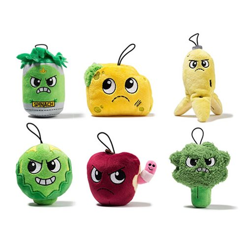 Yukky World 4-Inch Plush Set