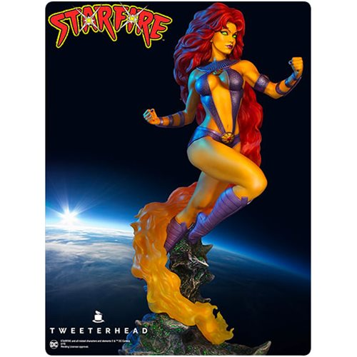 DC Collectibles The New Teen Titans Starfire Multi-Part Statue The New Teen Titans Starfire