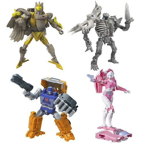 Transformers Generations Kingdom Deluxe Wave 2 Set of 4