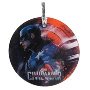 Captain America: Civil War Cap StarFire Prints Hanging Glass Ornament