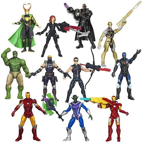 Avengers Movie Action Figures Wave 4 Revision 1