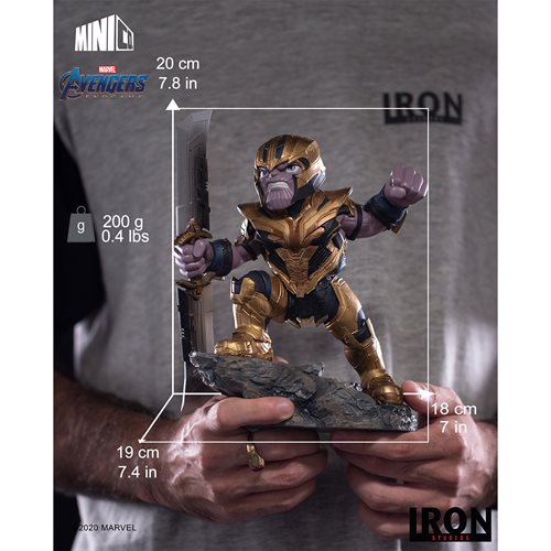 Avengers: Endgame Thanos Mini Co. Vinyl Figure