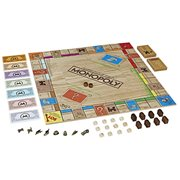 Monopoly Game Rustic Series Edition - Spanish Edition