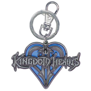 Kingdom Hearts Logo Pewter Key Chain