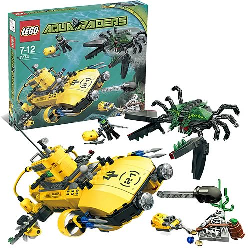 LEGO 7774 Aqua Raiders Crab Crusher - Entertainment Earth
