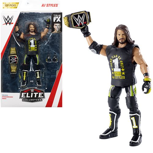 WWE Elite Collection Wave 2 2019 Top Picks Figure Case