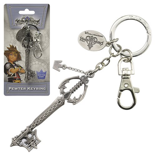 Kingdom Hearts Oblivion Pewter Key Chain