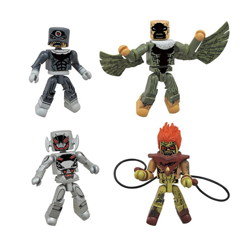 Marvel Avengers Age of Ultron Zombie Minimates Box Set