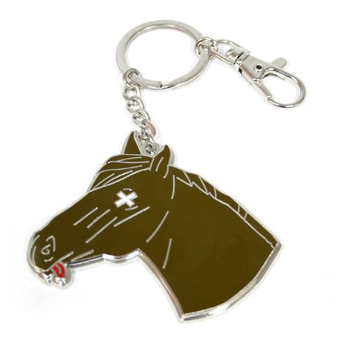 Godfather Horse Head Snap Keychain