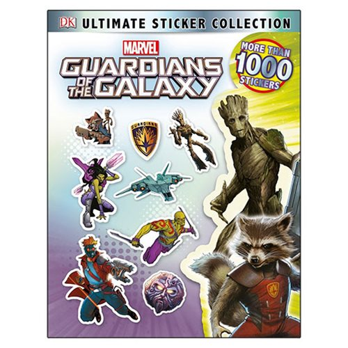 Marvel's Guardians of the Galaxy Ultimate Sticker Collection Paperback Book