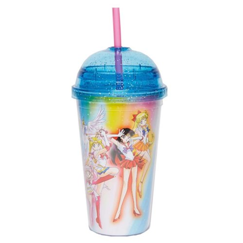 Sailor Moon SuperS Group Carnival Glitter Cup