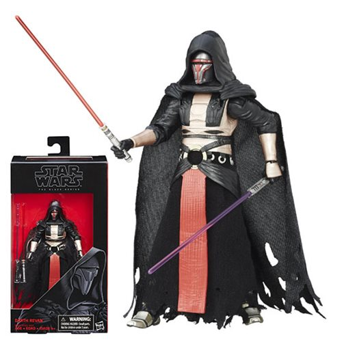 Star Wars The Black Series Darth Revan Figure, Not Mint