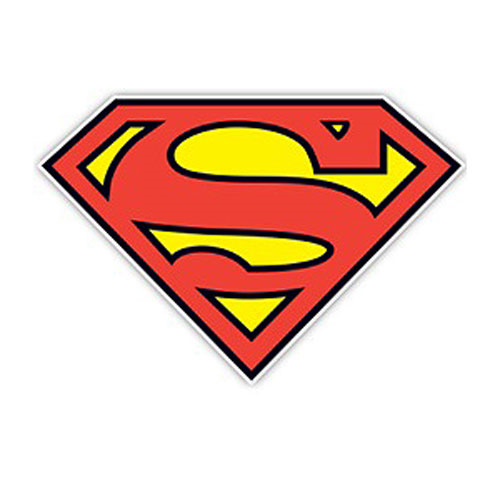 Superman Symbol Die-Cut Wood Wall Art