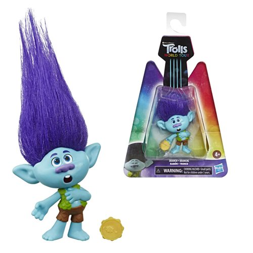 Trolls World Tour Spotlight Branch Small Dolls Collectible Figure