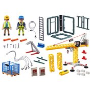 Playmobil 70441 Construction RC Crane with Building Section
