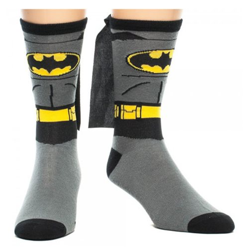 Batman Suit with Cape Crew Socks