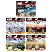 Star Wars: The Force Awakens MicroMachines Deluxe Vehicles and Figures Wave 3 Case