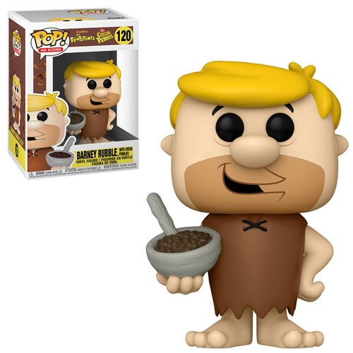 Coco Pebbles Barney Rubble with Cereal Pop! Vinyl Figure