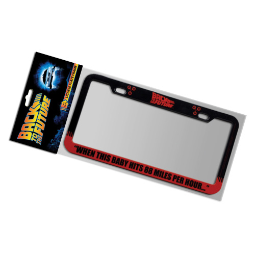 Back To The Future 88 MPH License Plate Frame - Entertainment Earth