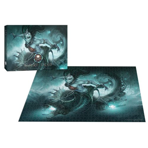 Court of the Dead Death's Siren 1,000-Piece Puzzle