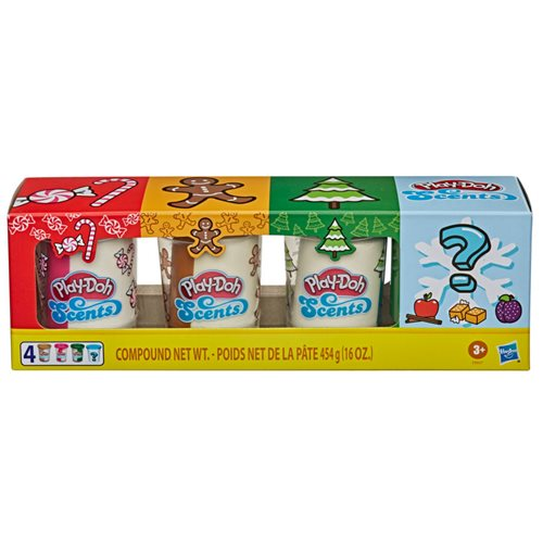 Play-Doh Holiday Mystery Scents 4-Pack - Random