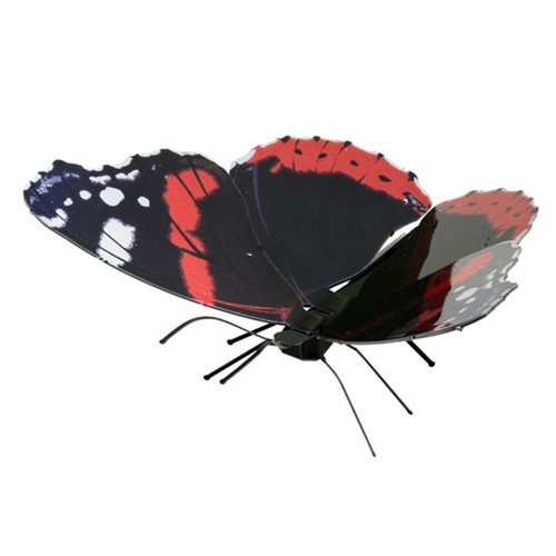 Red Admiral Butterfly Metal Earth Model Kit