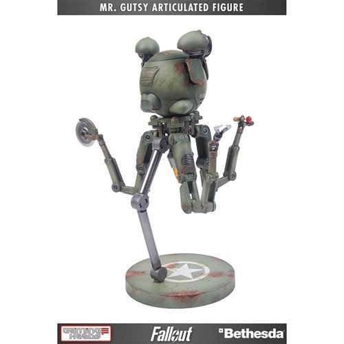 Fallout Mr. Gutsy Deluxe Articulated Action Figure with Sound