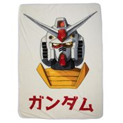 Gundam Original Fleece Throw Blanket