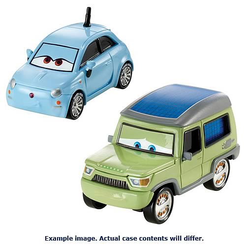 Cars Character Cars 1 55 Scale Wave 1 Vehicle Case Entertainment Earth