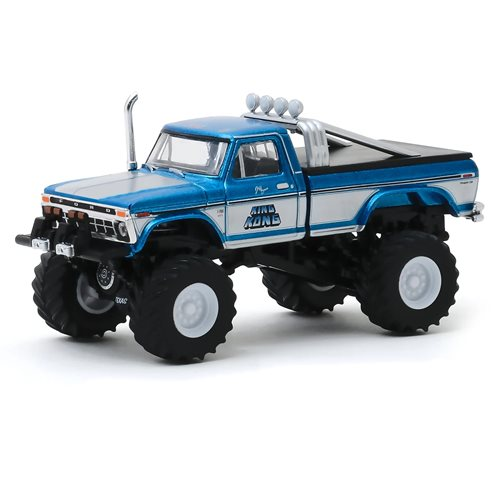 Kings of Crunch Series 6 King Kong 1975 Ford F-250 1:64 Scale Monster Truck Original Blue