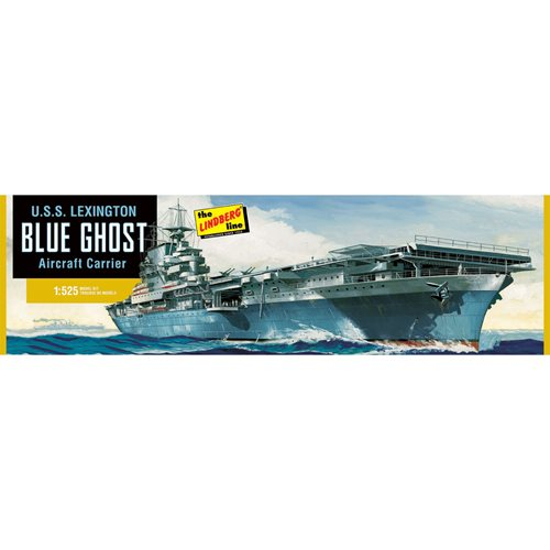 U.S.S. Lexington Aircraft Carrier 1:525 Scale Model Kit