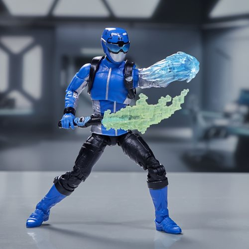 Power Rangers Lightning Collection Beast Morphers Blue Ranger 6-Inch Action Figure