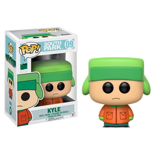 South Park Kyle Pop! Vinyl Figure #9, Not Mint