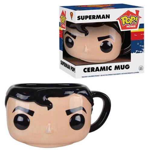 Superman Pop! Home 12 oz. Mug