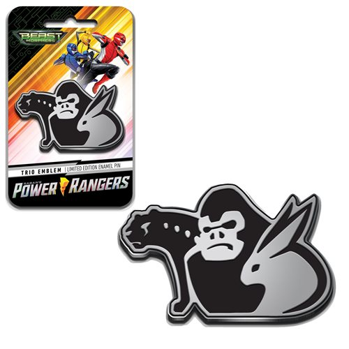 Power Rangers Beast Morphers Trio Emblem Pin