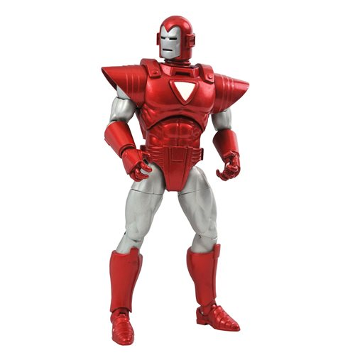 Marvel Select Marvel Now! Silver Centurion Iron Man Action Figure