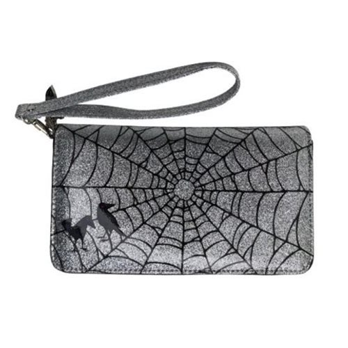 Elvira Glitter Clutch Wallet